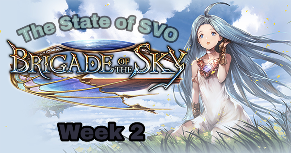 The State of SVO Week2