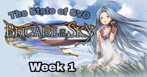 The State of SVO – Brigade week1