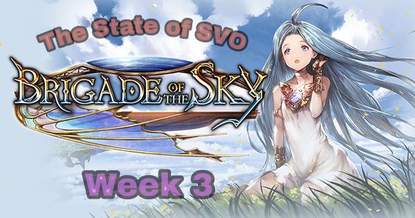 The State of SVO – Brigade Week3