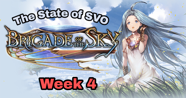 The State of SVO: Week 4